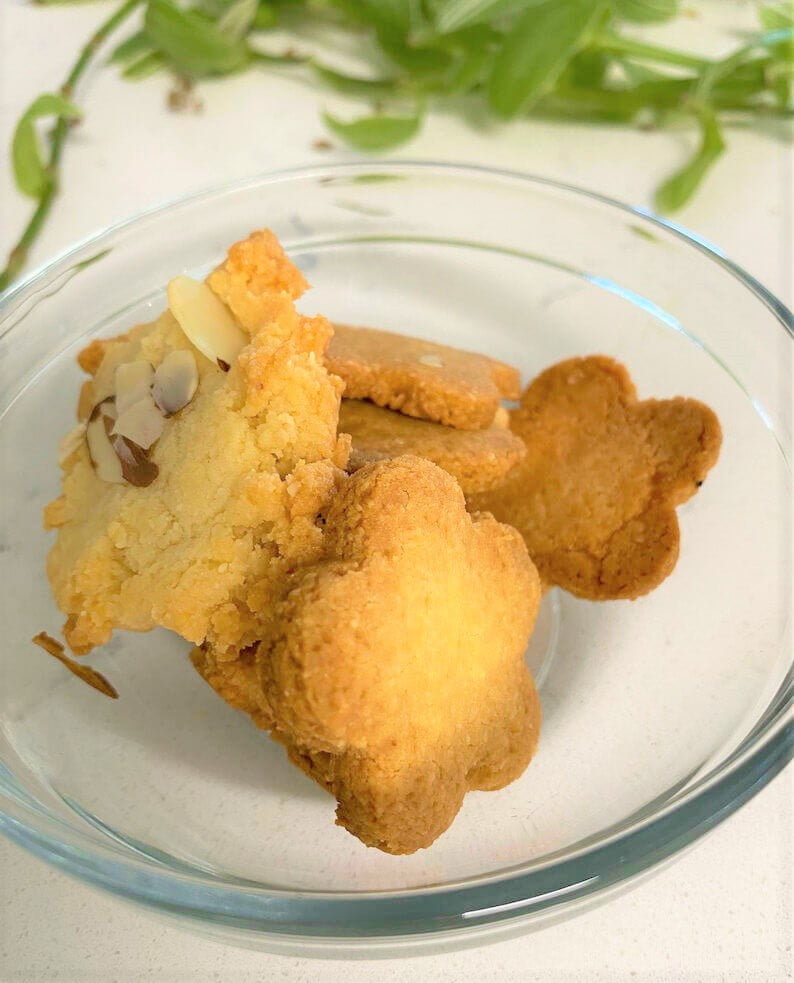 """Crispy! Guilty free, light & simple """"Keto Cookie with Almond Flour"""" (KETO/Low-Carb)"""