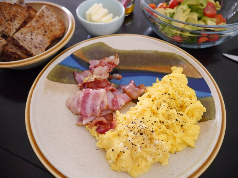 whole scrambled egg