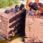 chocolate cake cream