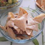 Okara tortilla chips